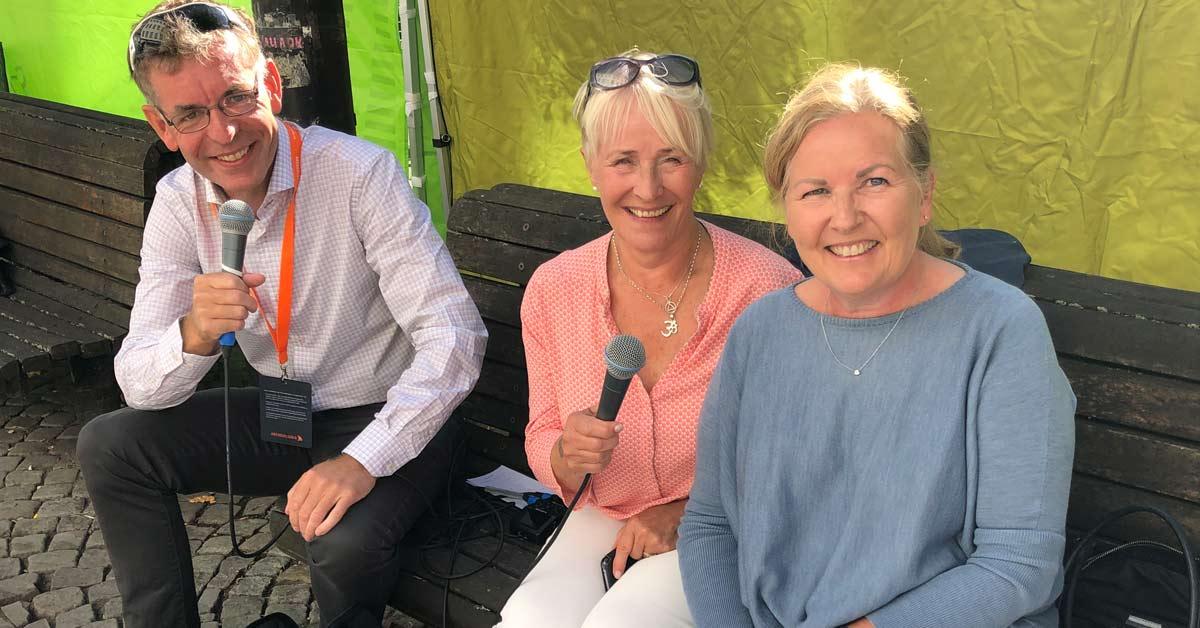 Knut Vindenes fra Høgskulen på Vestlandet har podcast-samtale med Anneli Skudal og Kristin Langnes fra 50 til 100 AS