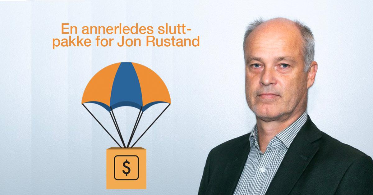 Jon Rustand fikk Oppstart i 100 som sluttpakke
